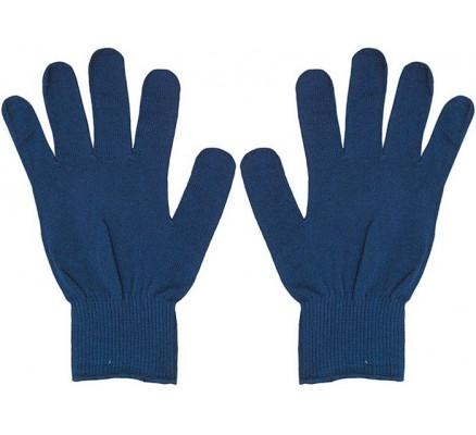 Полипропиленовые синие перчатки 8413