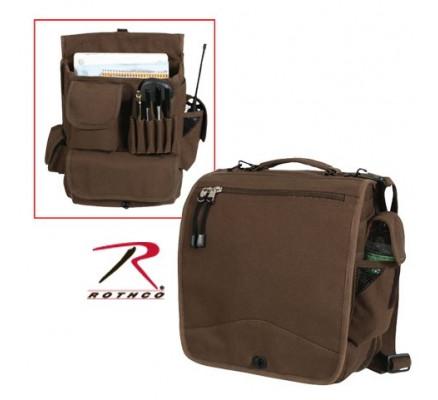 Полевая сумка коричневая 8622