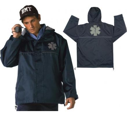 Синяя нейлоновая курточка EMT 8662