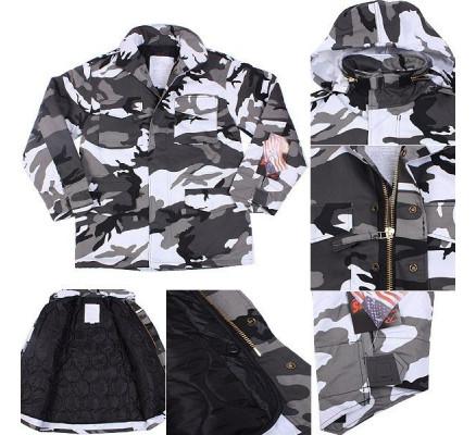Куртка М-65 городской камуфляж 8994
