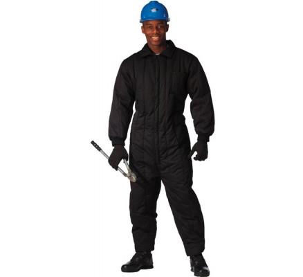 Черный рабочий комбинезон 9015