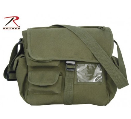 Городская оливковая сумка 9203