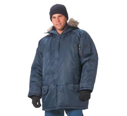 Темно-синяя курточка N-3B 9394