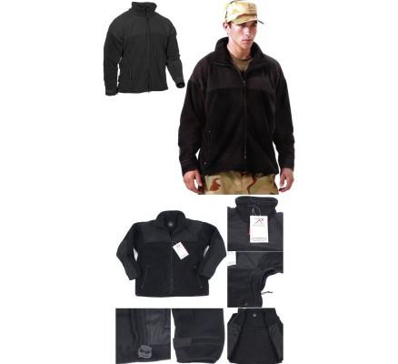Флисовая черная куртка ECWCS GEN II 9980