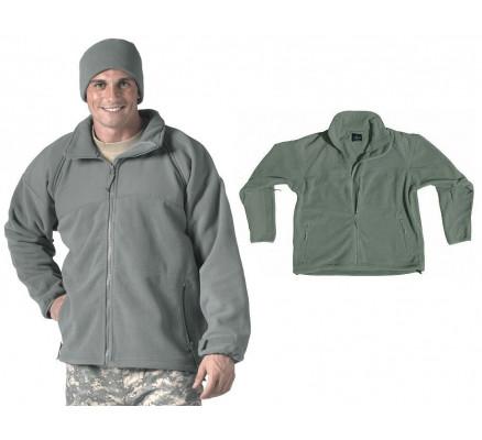 Флисовая курточка Зеленая листва 9778