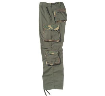 Винтажные оливковые брюки 2146
