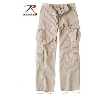 Винтажные брюки каменный цвет 2362