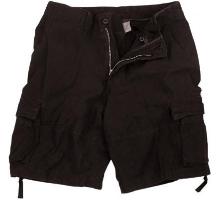 Винтажные черные шорты 2552