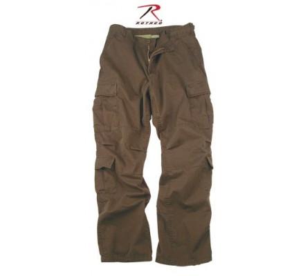 Винтажные коричневые брюки 2562