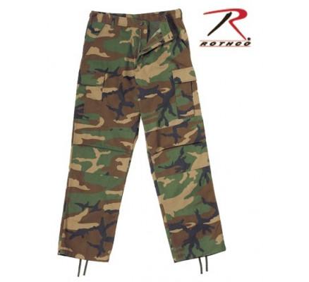 Свободные брюки Лесной камуфляж 2941
