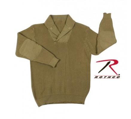 Винтажный свитер WWII хаки 5349