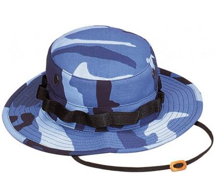 Шляпа Boonie небесно-синий камуфляж 5802