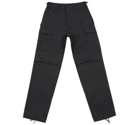 Черные брюки B.D.U. 5923