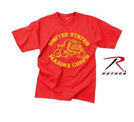 Винтажная футболка U.S. MARINE BULLDOG 61163