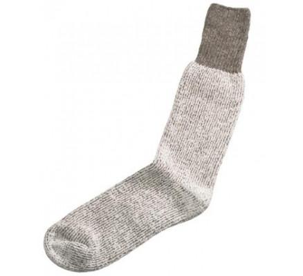 Шерстяные носки серого цвета 6142