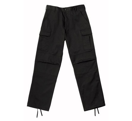 Черные брюки B.D.U. S.W.A.T. 6215