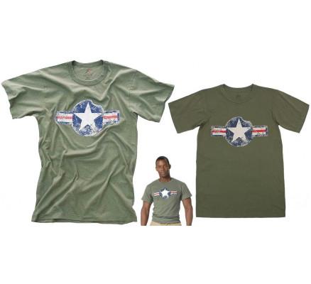 Винтажная футболка ARMY AIR CORP 66300
