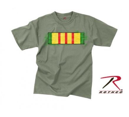 Винтажная футболка VIETNAM RIBBON 66750