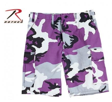 Шорты Ультра фиолетовый камуфляж 7100