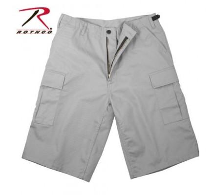 Удлиненные серые шорты BDU 7228