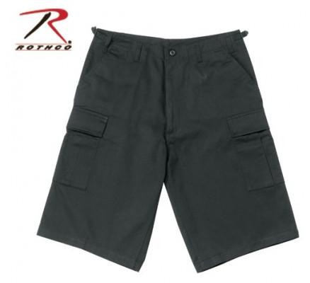 Удлиненные шорты BDU черные 7761