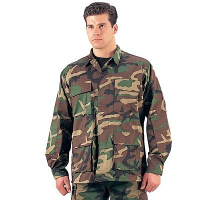 Рубашка BDU лесной камуфляж 7940