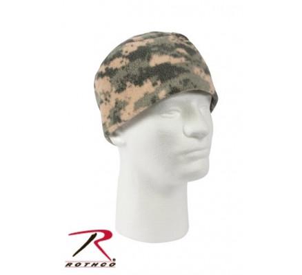 Флисовая шапка цифровой камуфляж 8461