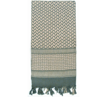 Пустынный шарф Шемаг зеленый 8537