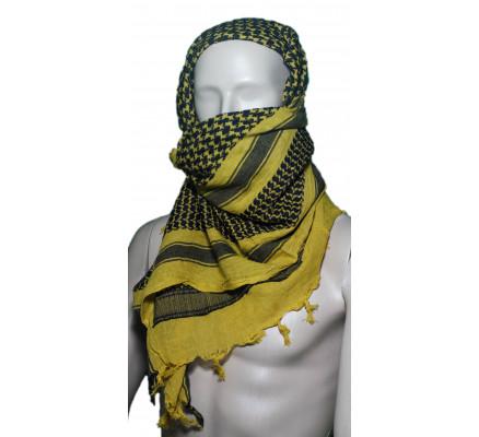 Пустынный шарф Шемаг желтый 8537