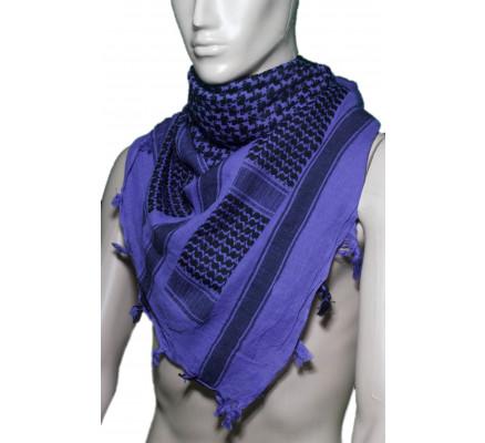 Пустынный шарф Шемаг фиолетовый 8537
