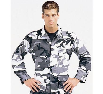 Рубашка B.D.U. городской камуфляж 8881