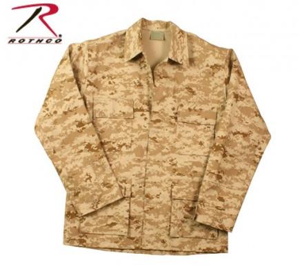 Рубашка B.D.U. пустынный цифровой камуфляж 8898
