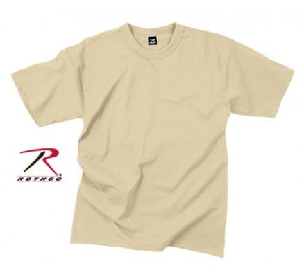Водоотталкивающая футболка песочная 9580