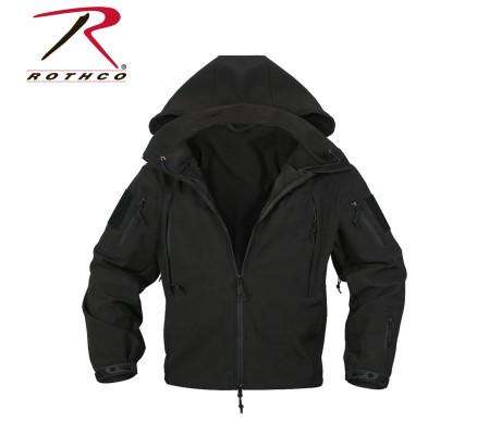 Водонепроницаемая куртка черная 9767