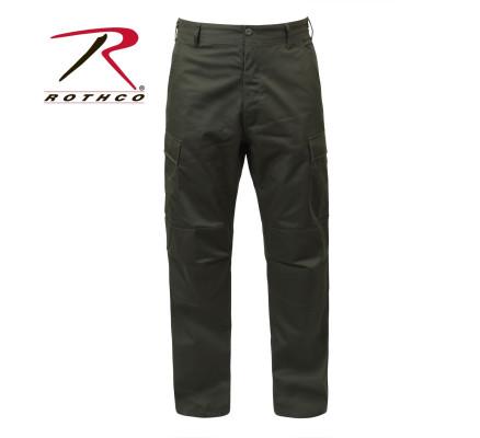 Оливковые брюки BDU 7838