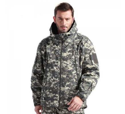 Куртка Soft Shell Jacket digital ACU