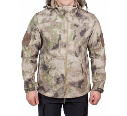 Куртка Soft Shell Jacket мох