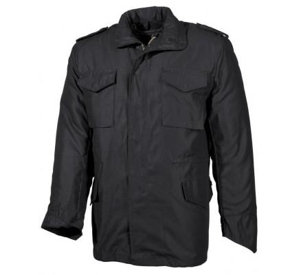 Куртка M-65 Max Fuchs с подстёжкой Черная