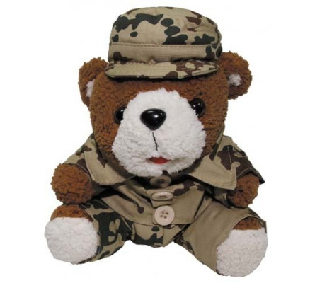 Мягкая игрушка Военный Медведь