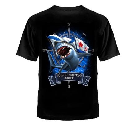 Футболка ВМФ Акула