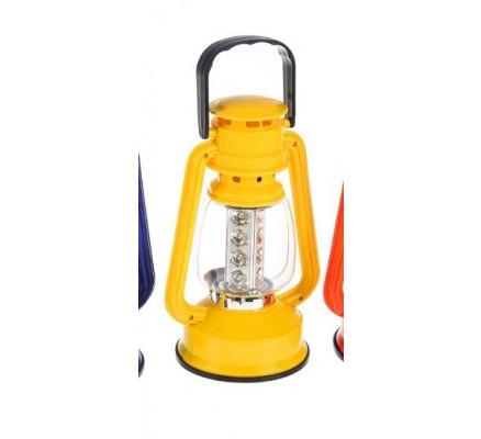 Желтый переносной фонарь