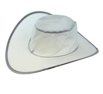 Складная белая шляпа
