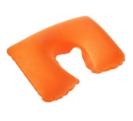Оранжевая дорожная подушка