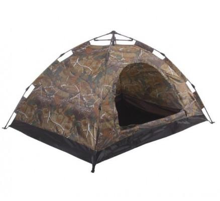 Палатка-автомат Лесной камуфляж