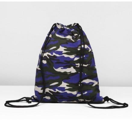 Мешок для обуви Фиолетовый камуфляж