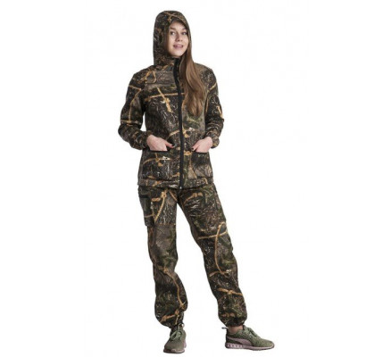 Женский костюм Лесной камуфляж