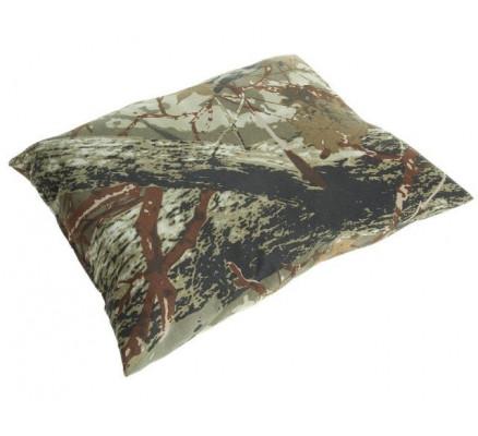 Подушка Коричневый лесной камуфляж
