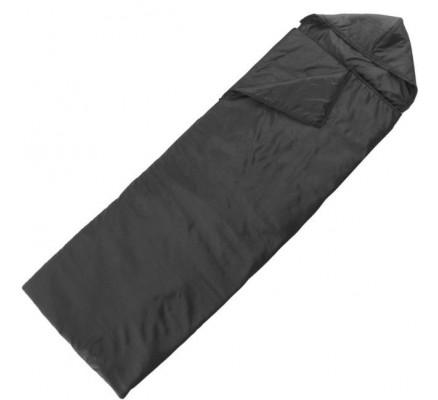 Спальный мешок эконом черный