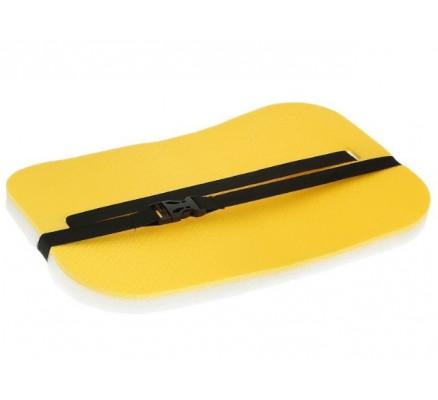 Туристический коврик-сидушка желтый
