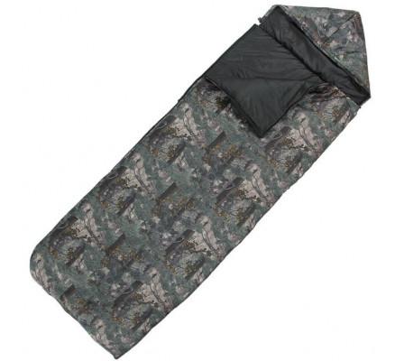 Спальный мешок 3-х слойный камуфляж